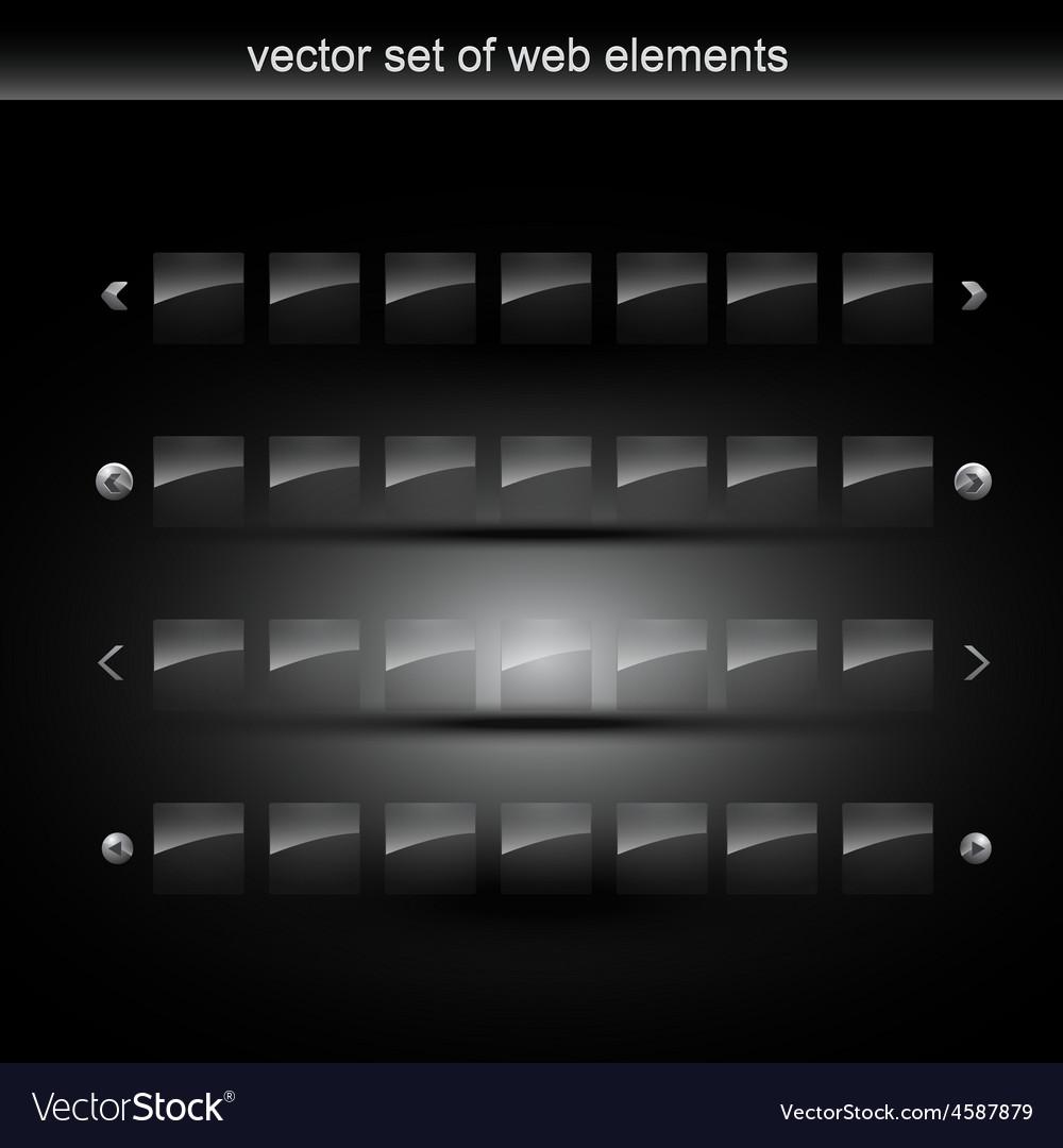 Web element vector   Price: 1 Credit (USD $1)