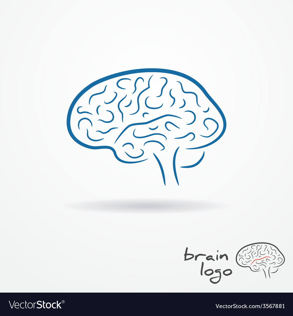 Brain logo vector | Price: 1 Credit (USD $1)