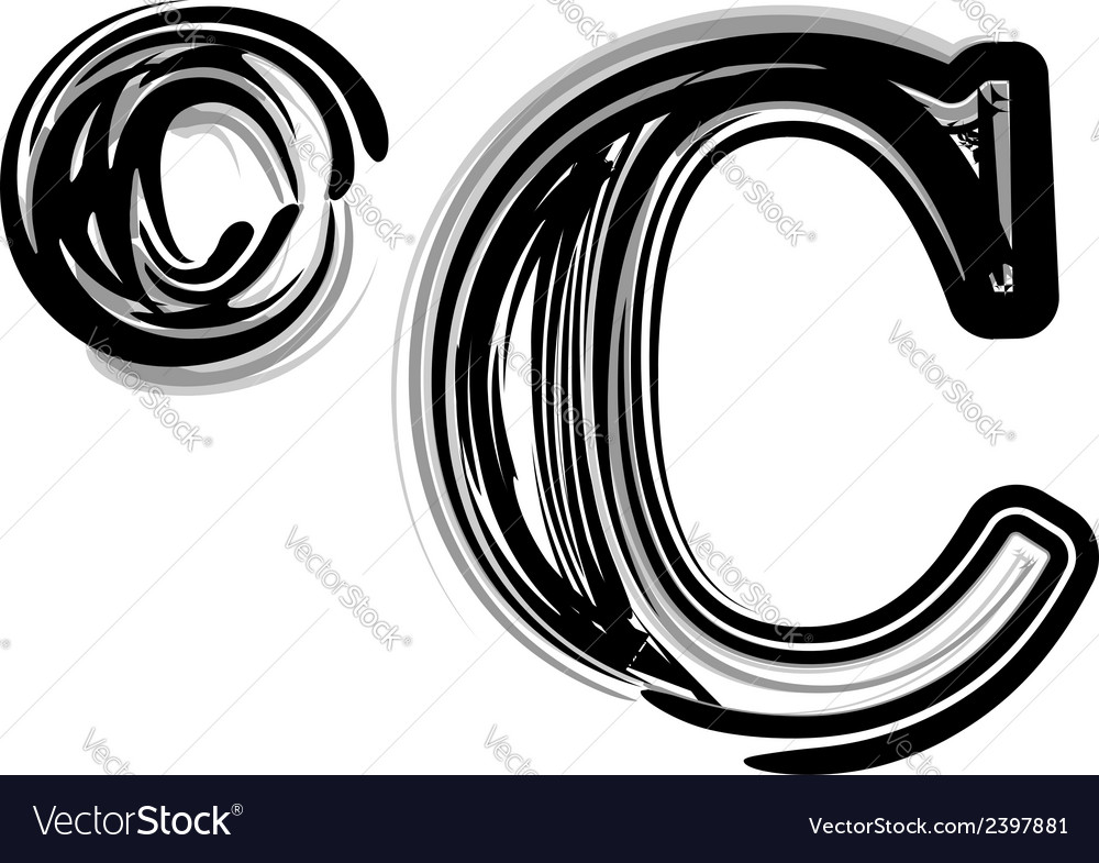 Freehand symbol vector | Price: 1 Credit (USD $1)