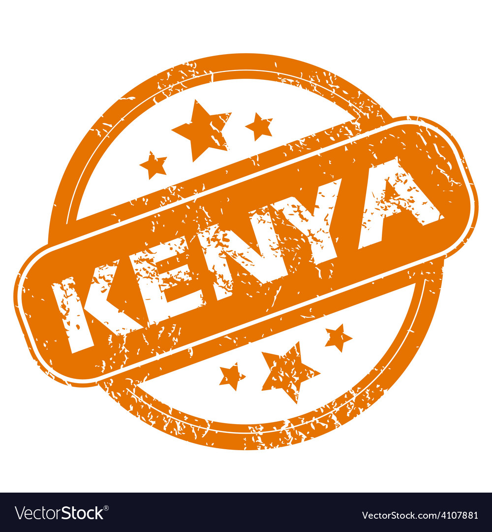Kenya grunge icon vector | Price: 1 Credit (USD $1)