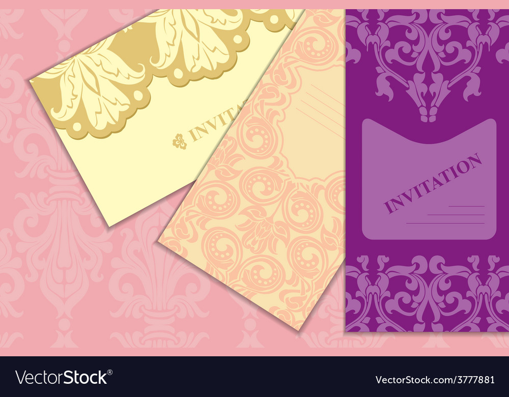 Ornament classic art nouveau set vector | Price: 1 Credit (USD $1)