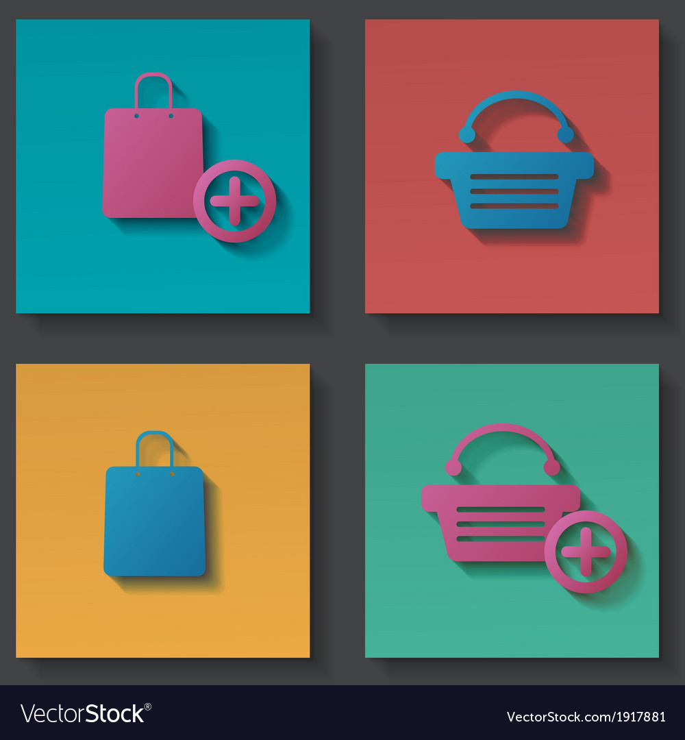Purchase icons set vector | Price: 1 Credit (USD $1)