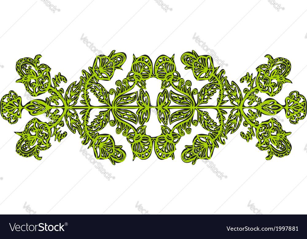 Symmetrical openwork vector | Price: 1 Credit (USD $1)