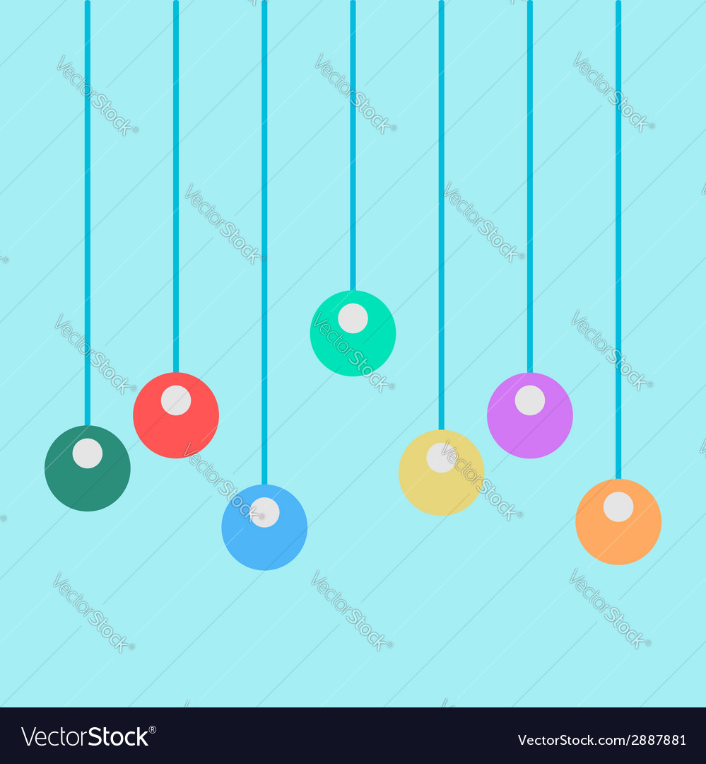 Toys on the ropes vector | Price: 1 Credit (USD $1)