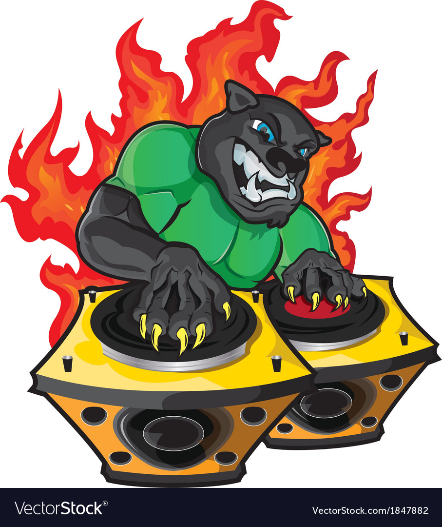Disk jockey vector | Price: 5 Credit (USD $5)