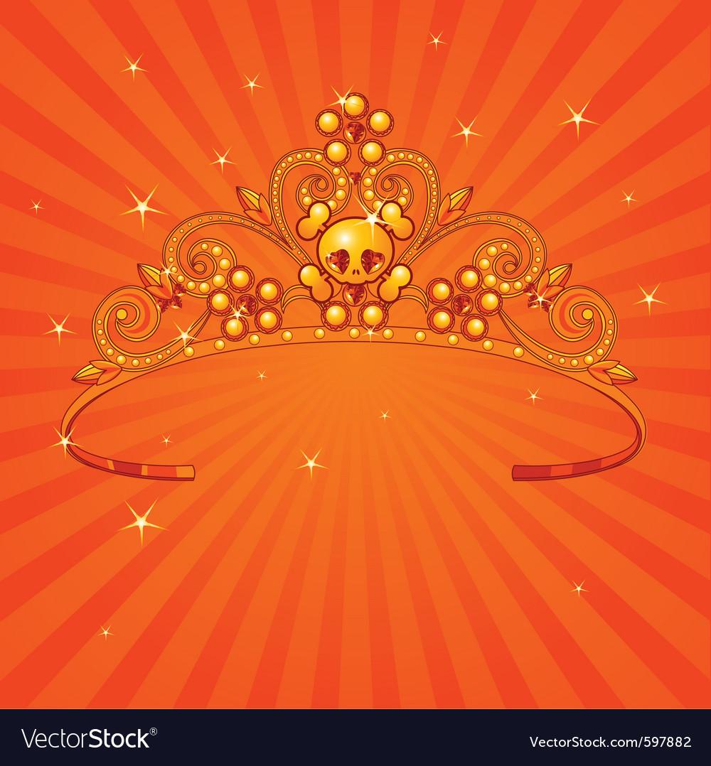 Princess crown vector | Price: 1 Credit (USD $1)