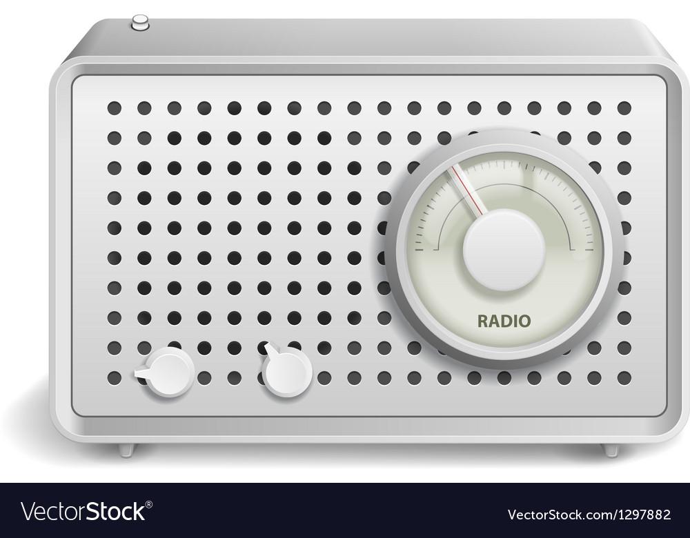Radio icon vector | Price: 3 Credit (USD $3)
