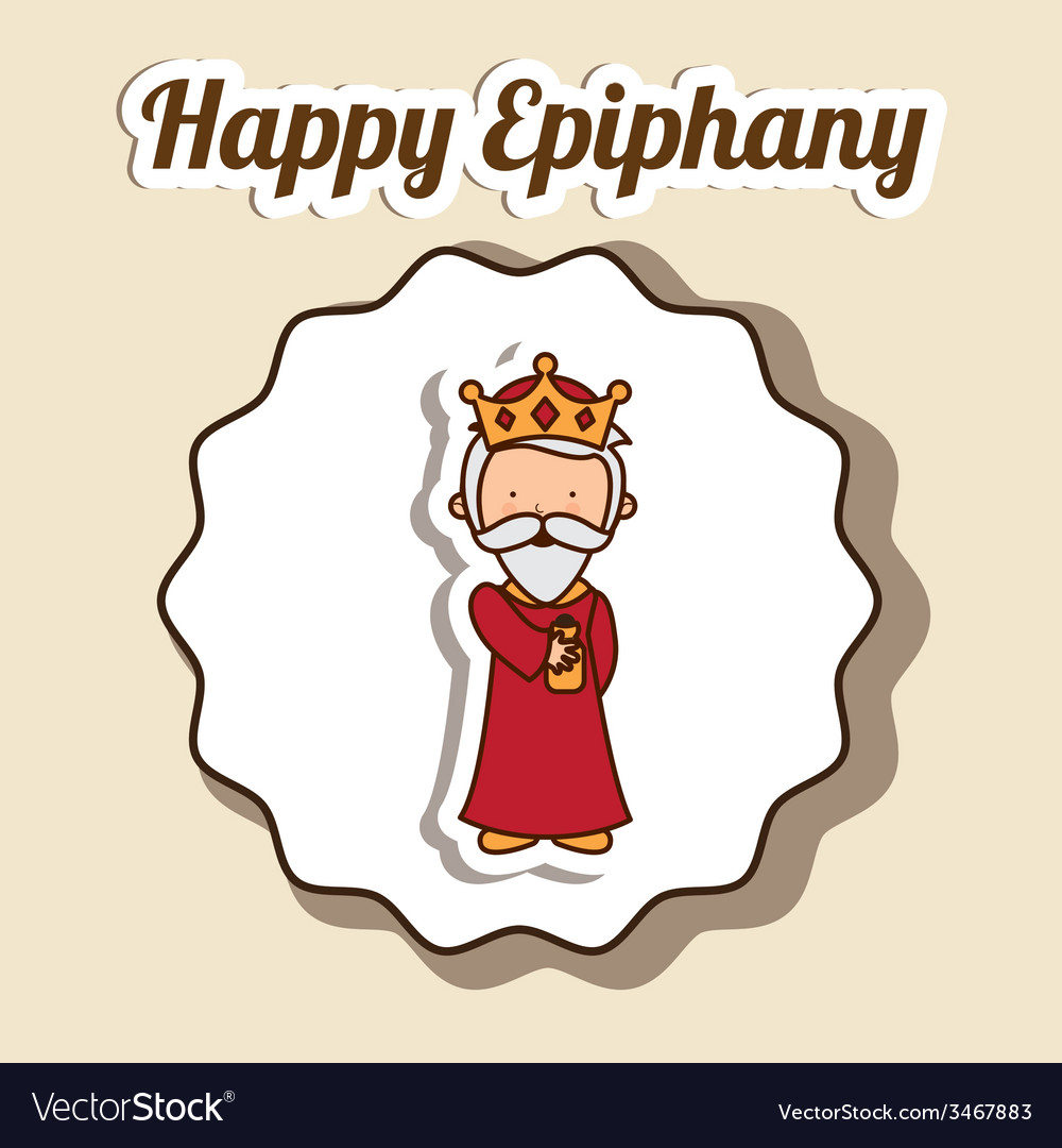 Epiphany design vector | Price: 1 Credit (USD $1)