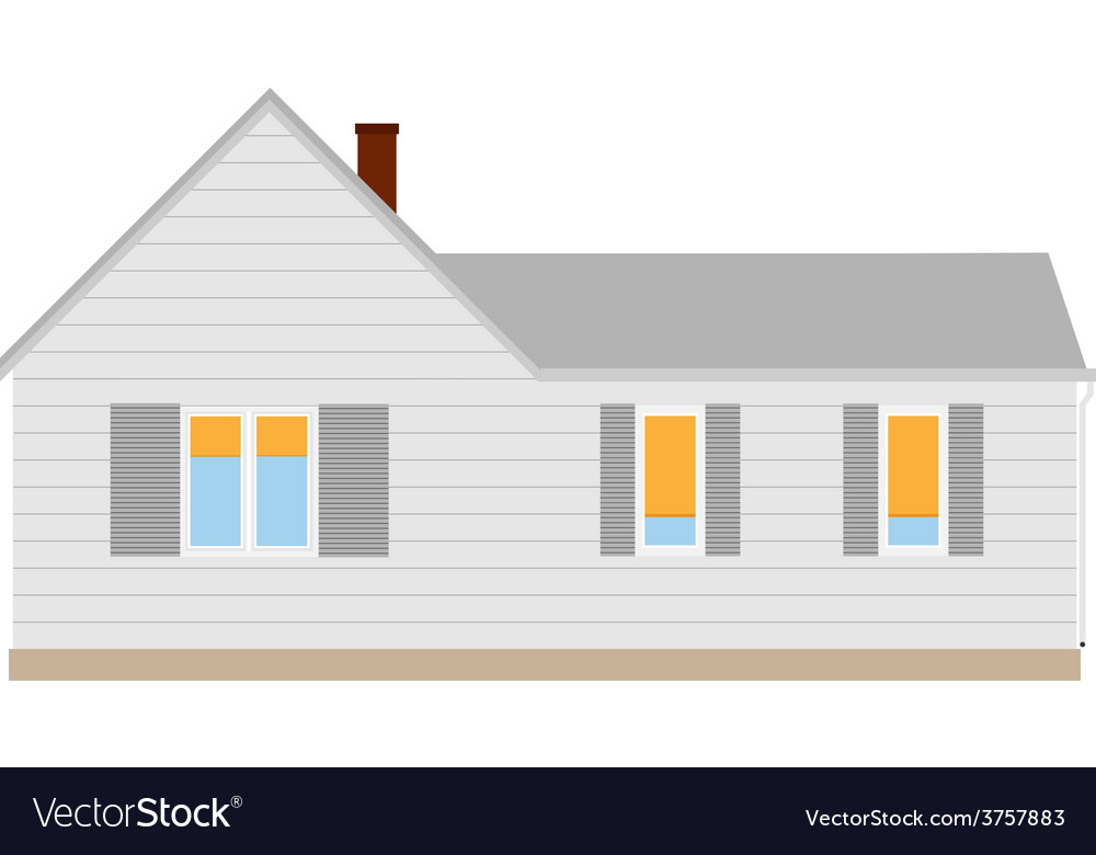 New cottage vector | Price: 1 Credit (USD $1)