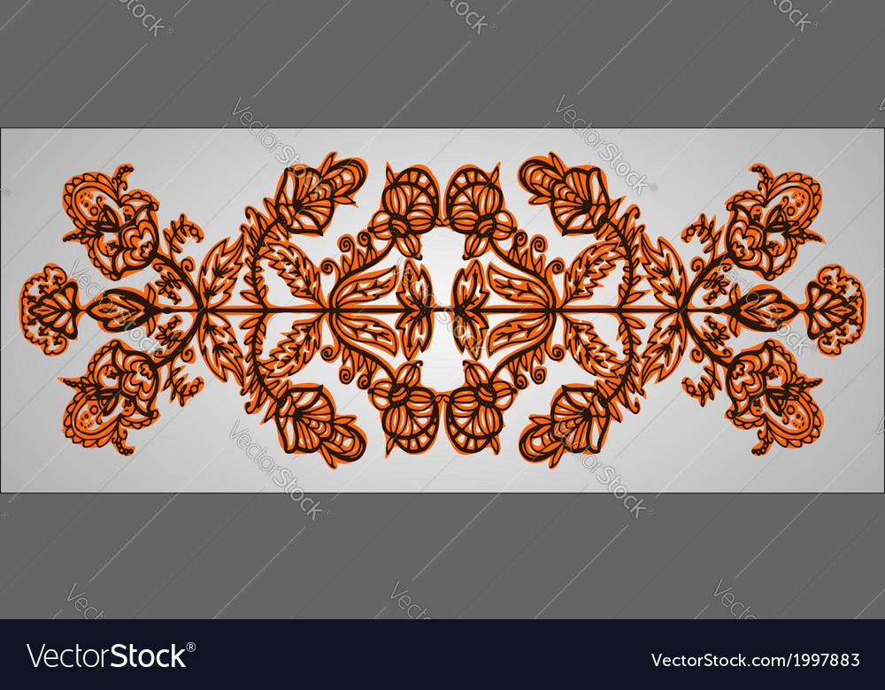 Ukraine ornament vector | Price: 1 Credit (USD $1)