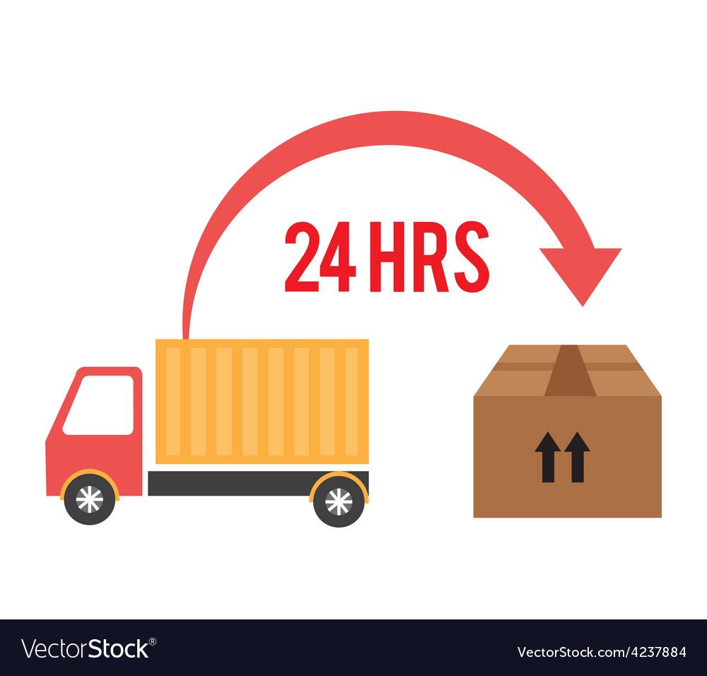 Delivery design vector | Price: 1 Credit (USD $1)