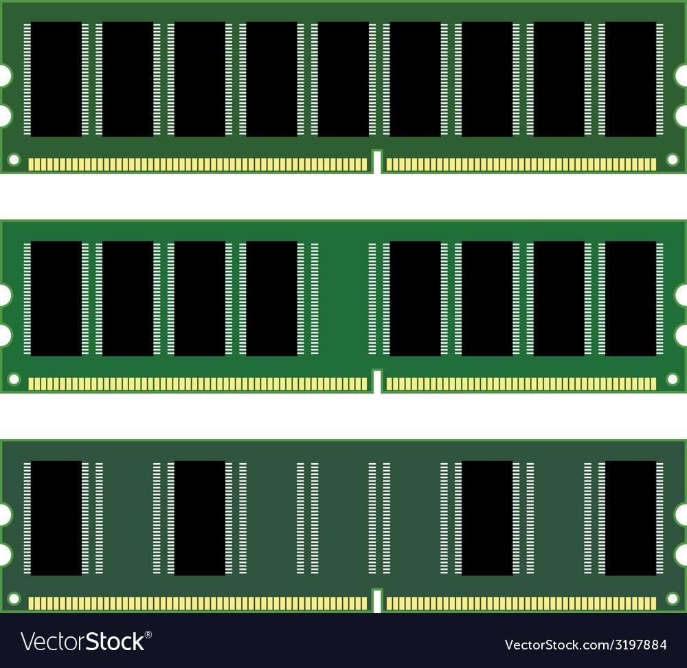 Dimm memory vector | Price: 1 Credit (USD $1)
