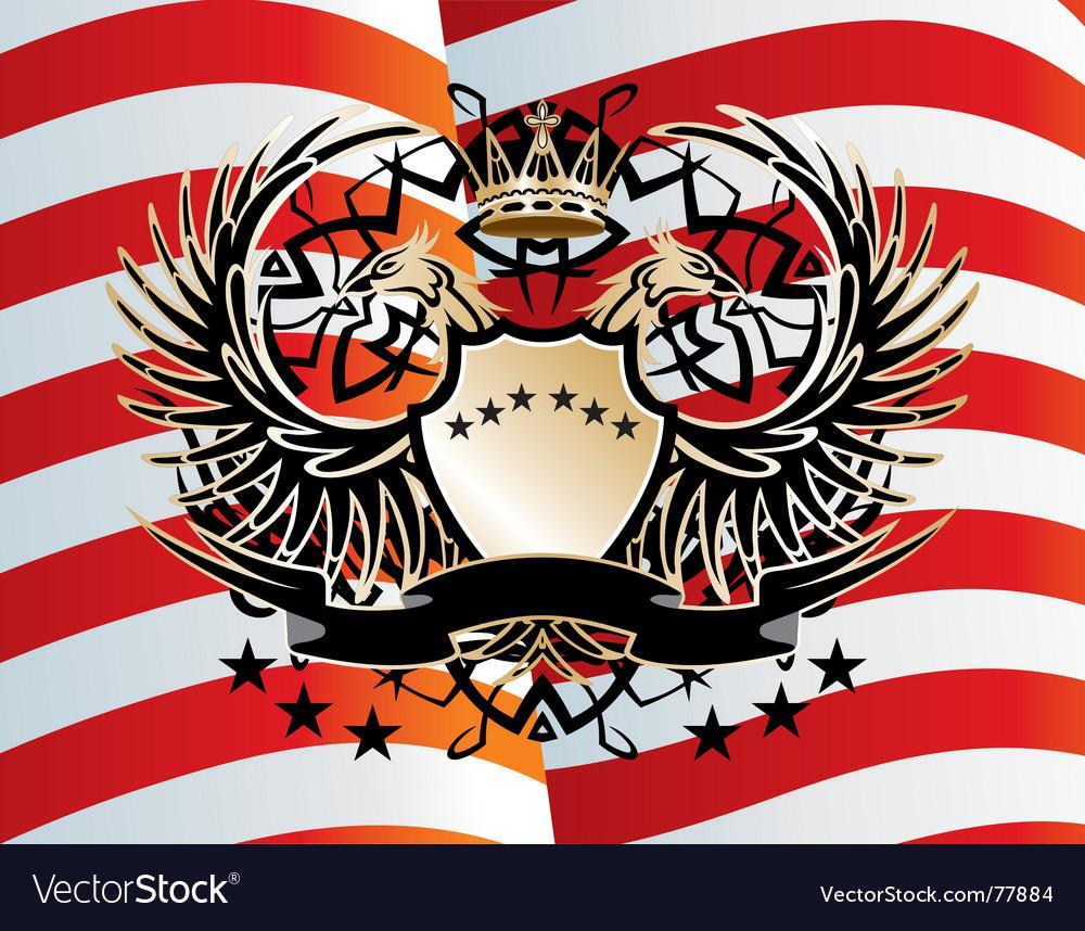 Heraldic sign vector | Price: 1 Credit (USD $1)