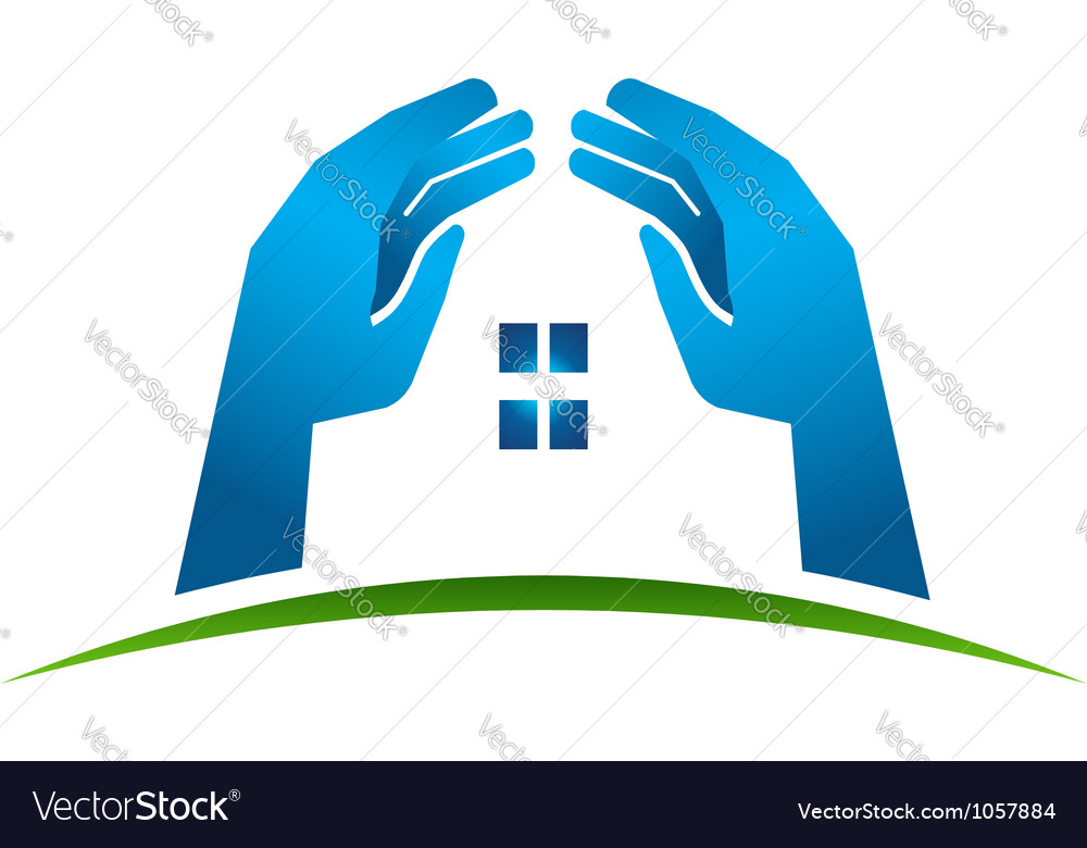 House hands vector | Price: 1 Credit (USD $1)