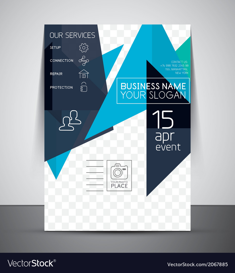 Business corporate flyer template vector | Price: 1 Credit (USD $1)