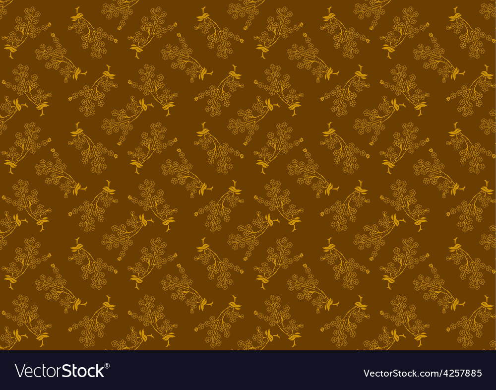 Decorative flower pattern vector | Price: 1 Credit (USD $1)