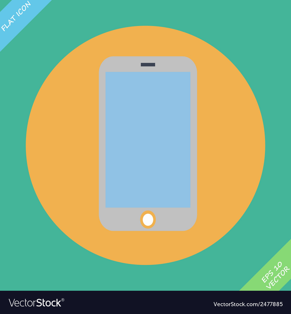 Smartphone icon - vector   Price: 1 Credit (USD $1)