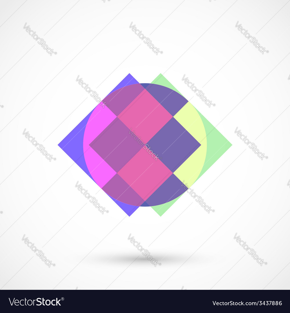 Abstract figure vector | Price: 1 Credit (USD $1)