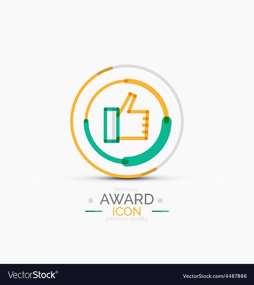 Award icon logo vector | Price: 1 Credit (USD $1)
