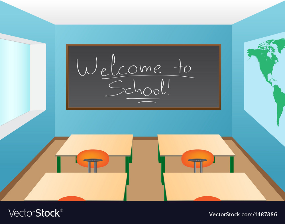 Classroom vector | Price: 1 Credit (USD $1)