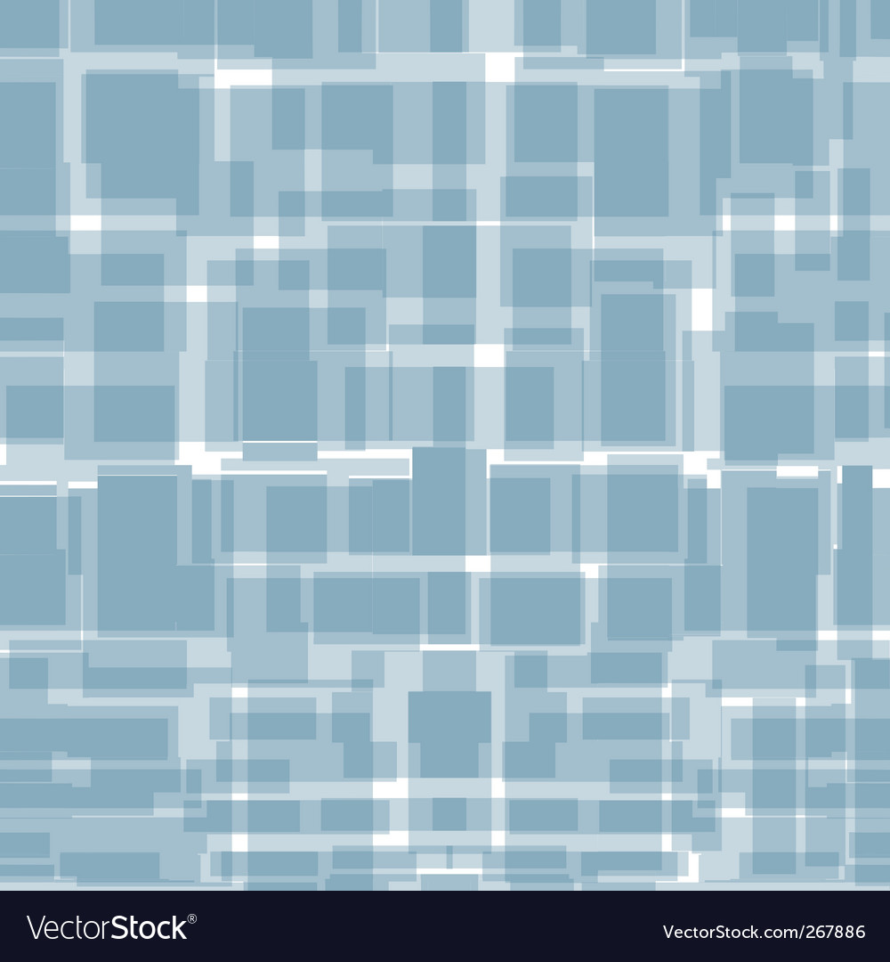 Seamless background from blue rectangles vector | Price: 1 Credit (USD $1)