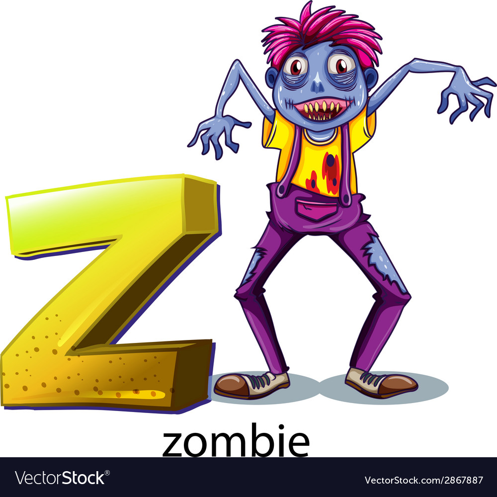 A letter z for zombie vector | Price: 1 Credit (USD $1)