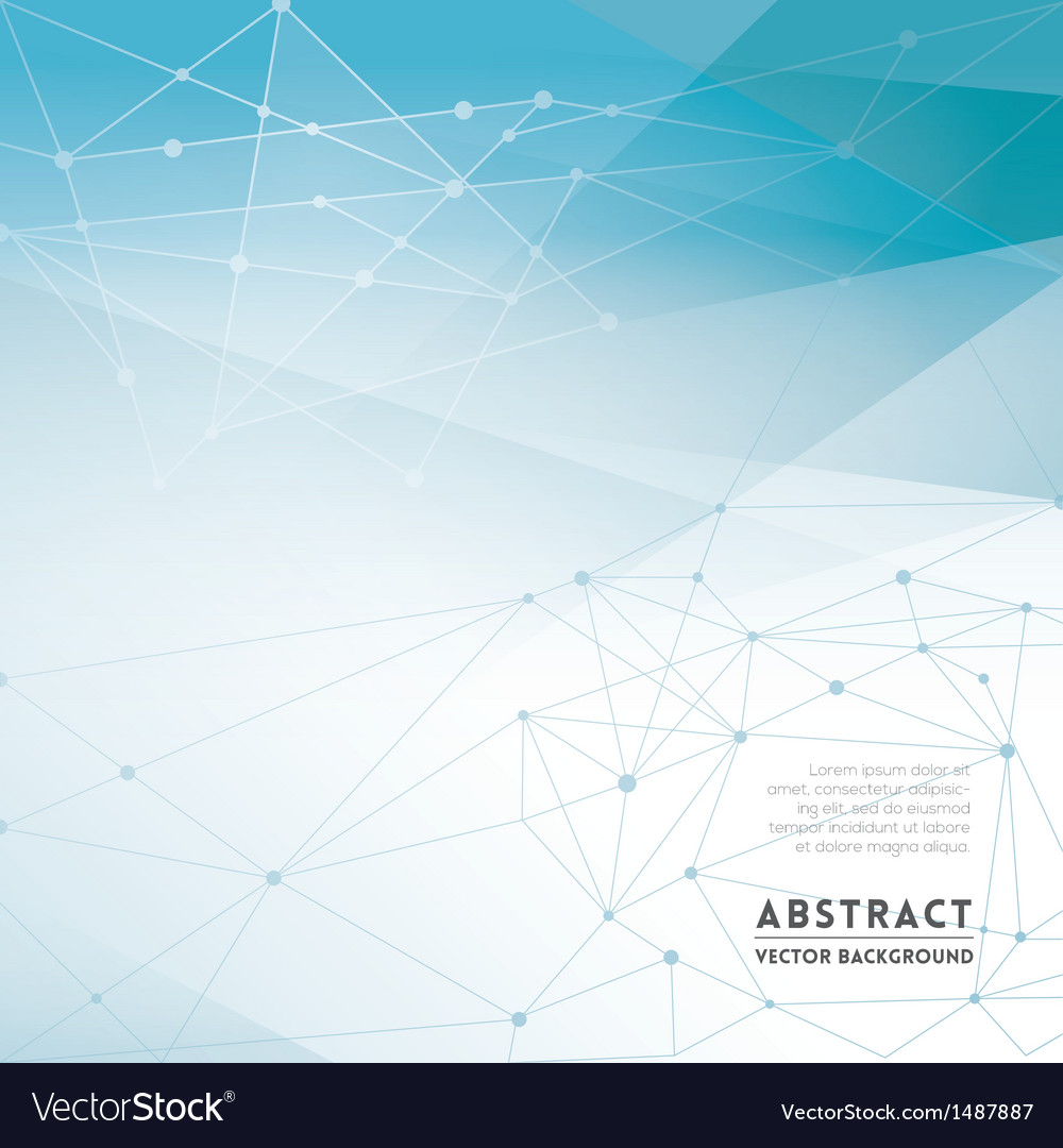 Abstract network background vector | Price: 1 Credit (USD $1)
