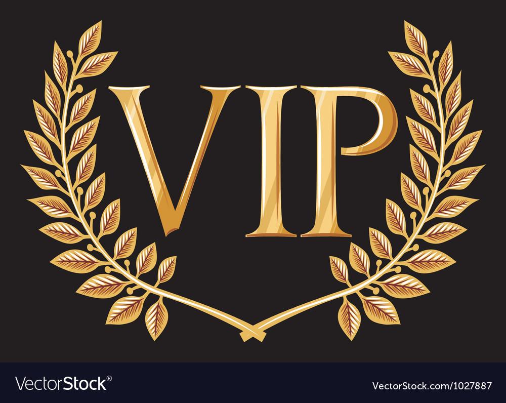 Vip design vector | Price: 1 Credit (USD $1)