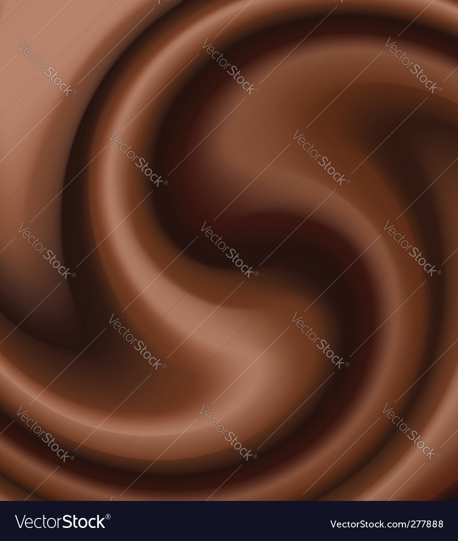 Chocolate swirl vector | Price: 1 Credit (USD $1)
