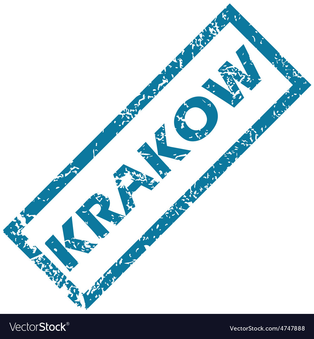 Krakow rubber stamp vector | Price: 1 Credit (USD $1)