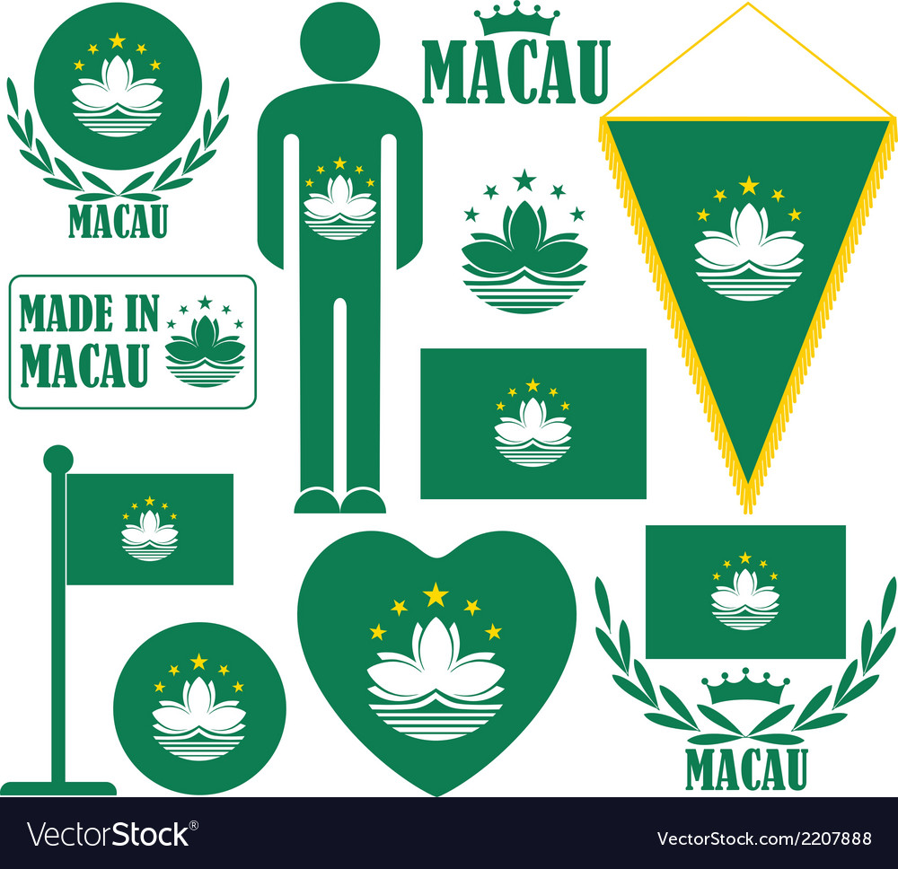 Macau vector | Price: 1 Credit (USD $1)
