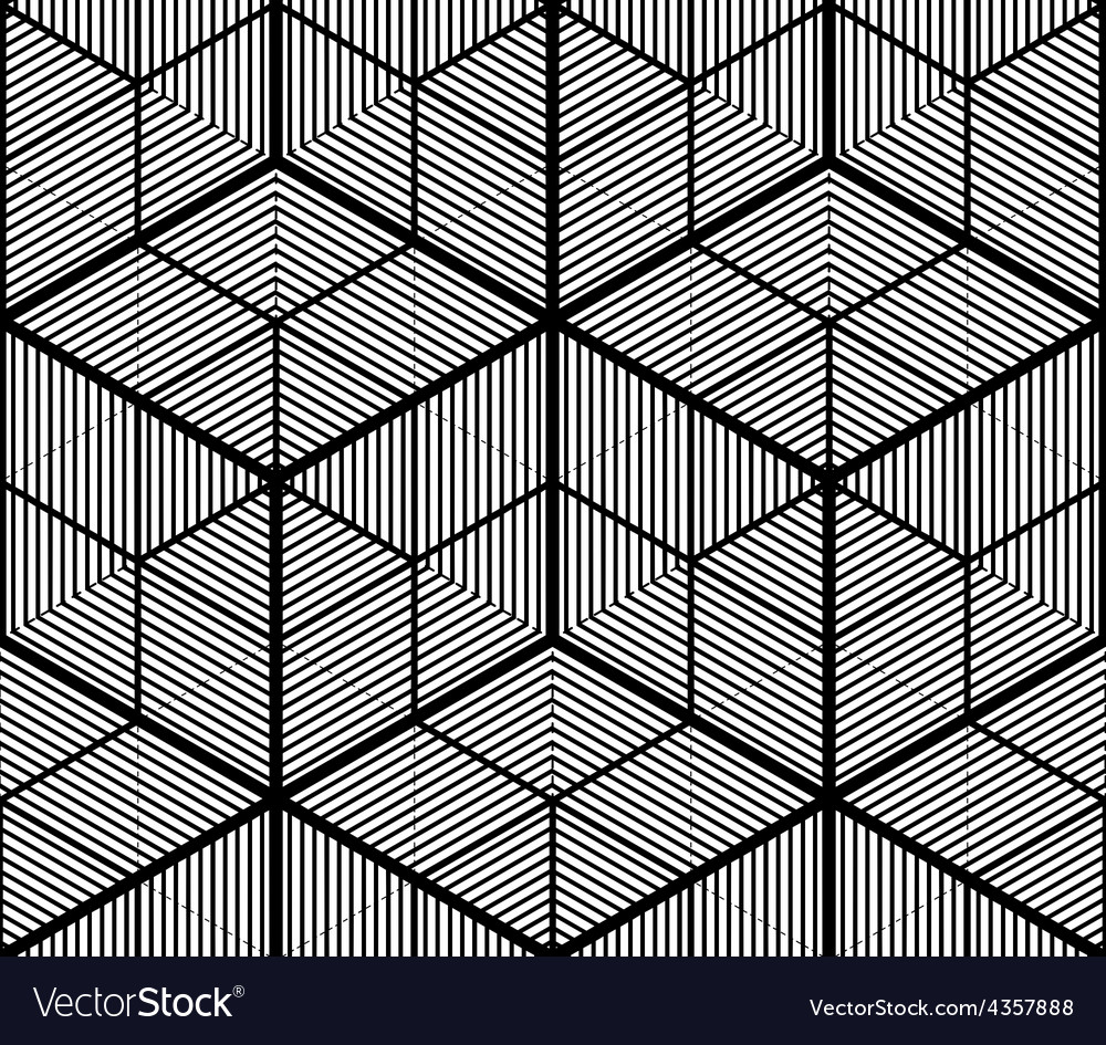 Seamless optical ornamental pattern with vector | Price: 1 Credit (USD $1)