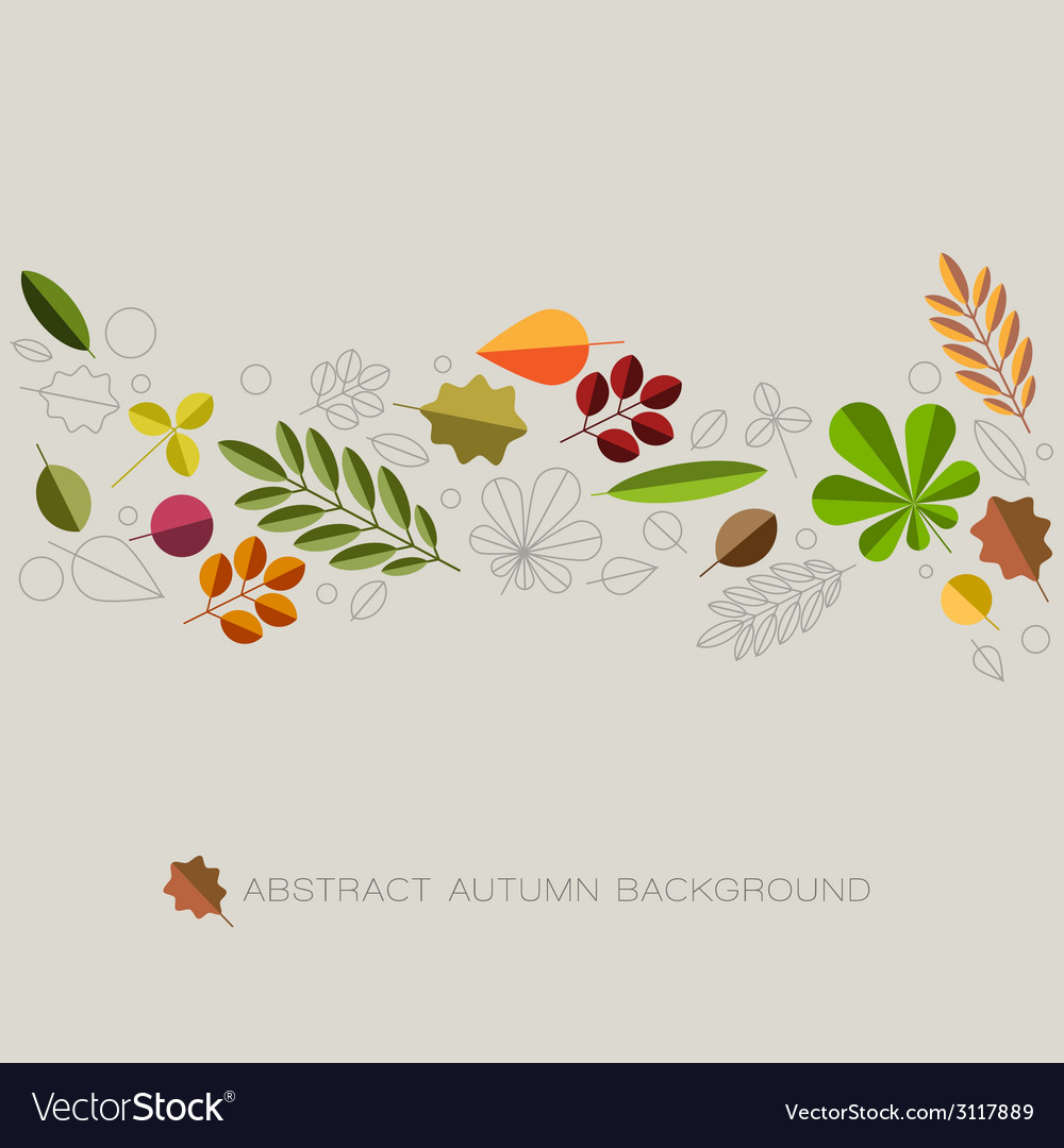 Autumn abstract floral background with place for vector   Price: 1 Credit (USD $1)