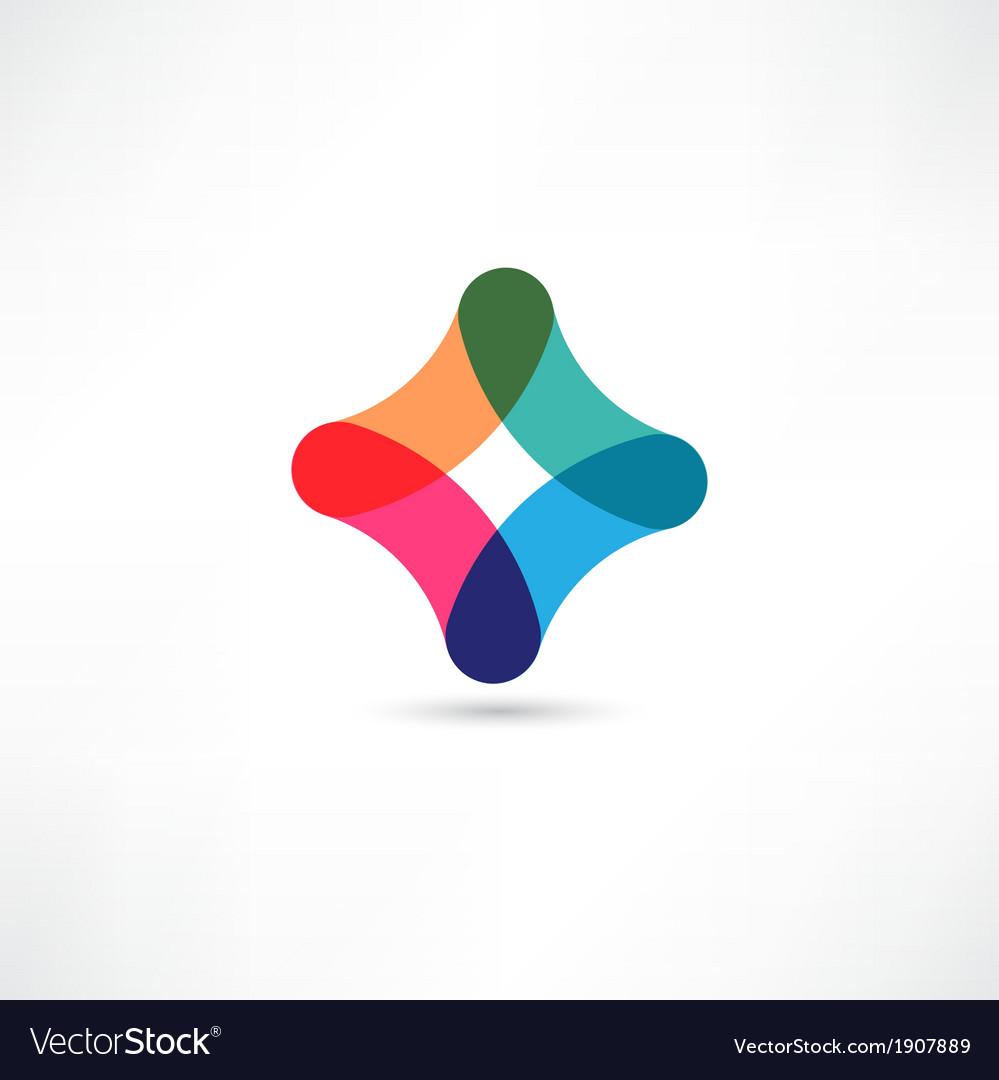 Colored figure vector | Price: 1 Credit (USD $1)