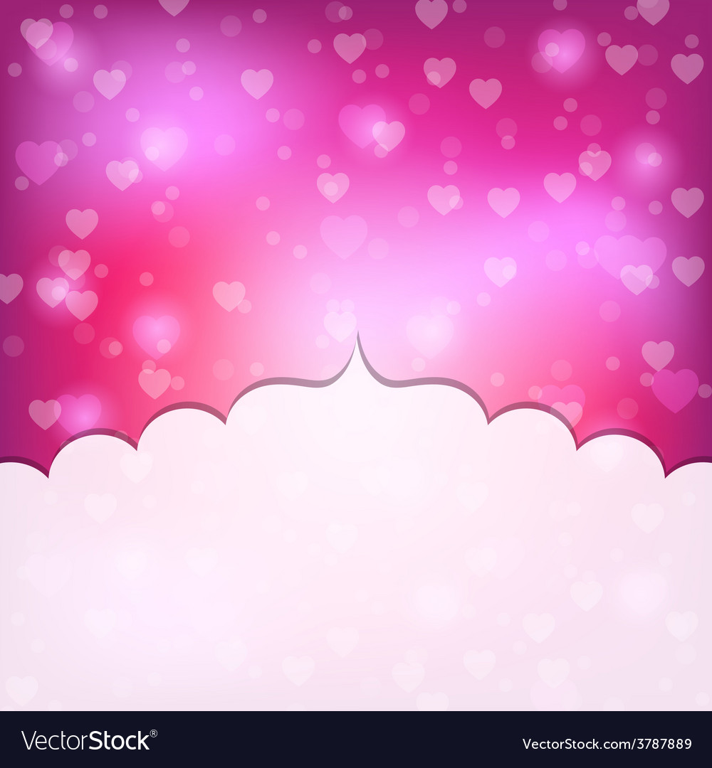 Valentine day frame vector | Price: 1 Credit (USD $1)