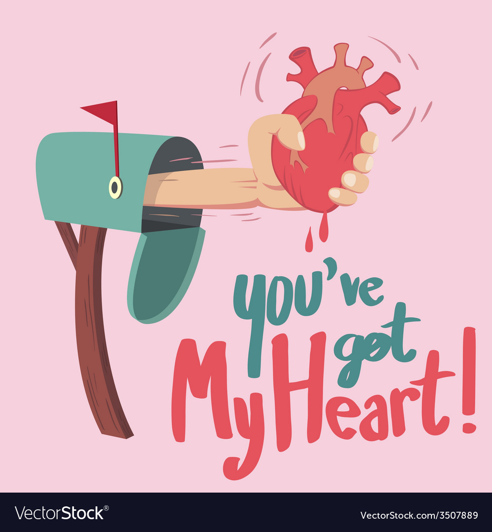 You have got heart vector | Price: 1 Credit (USD $1)