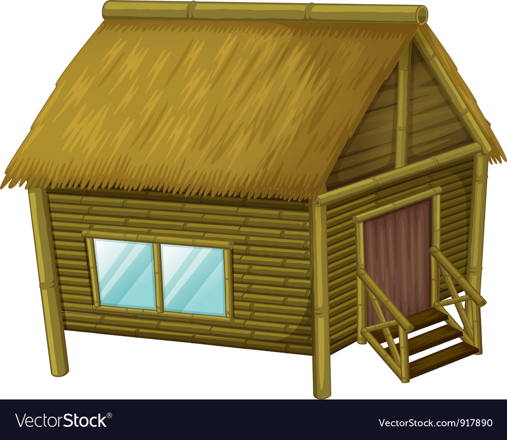 Cartoon hut vector | Price: 3 Credit (USD $3)