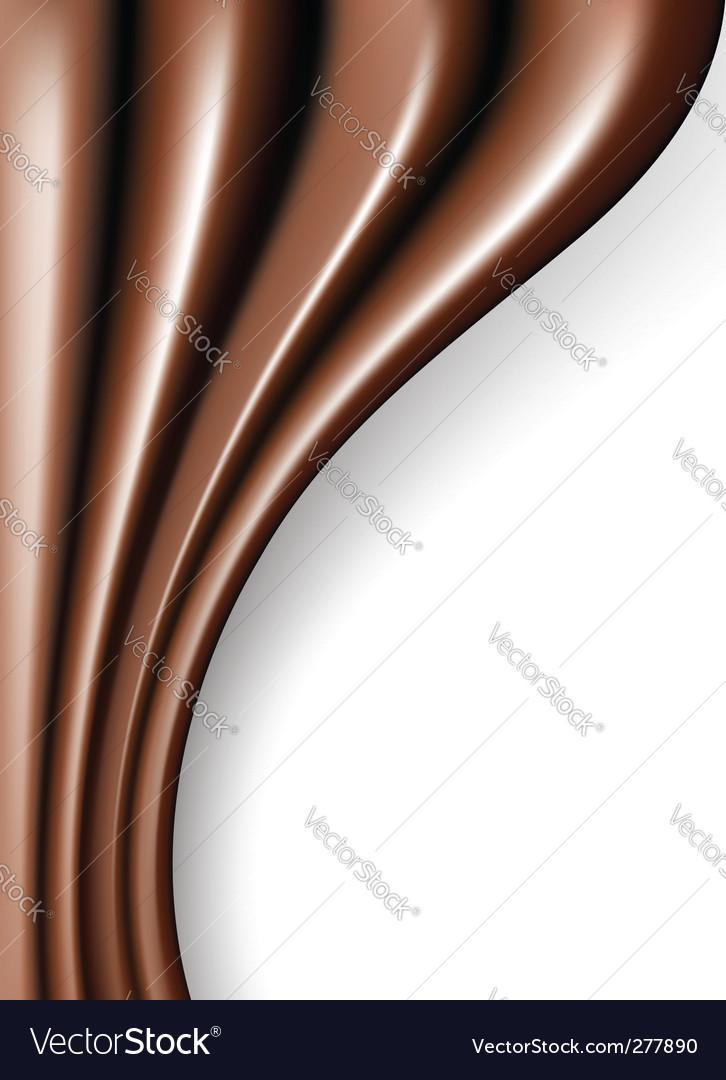 Chocolate folds vector | Price: 1 Credit (USD $1)