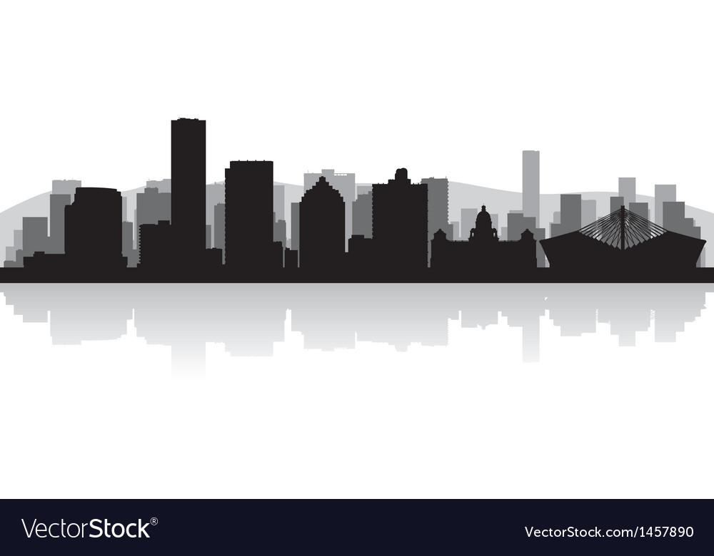 Durban city skyline silhouette vector | Price: 1 Credit (USD $1)