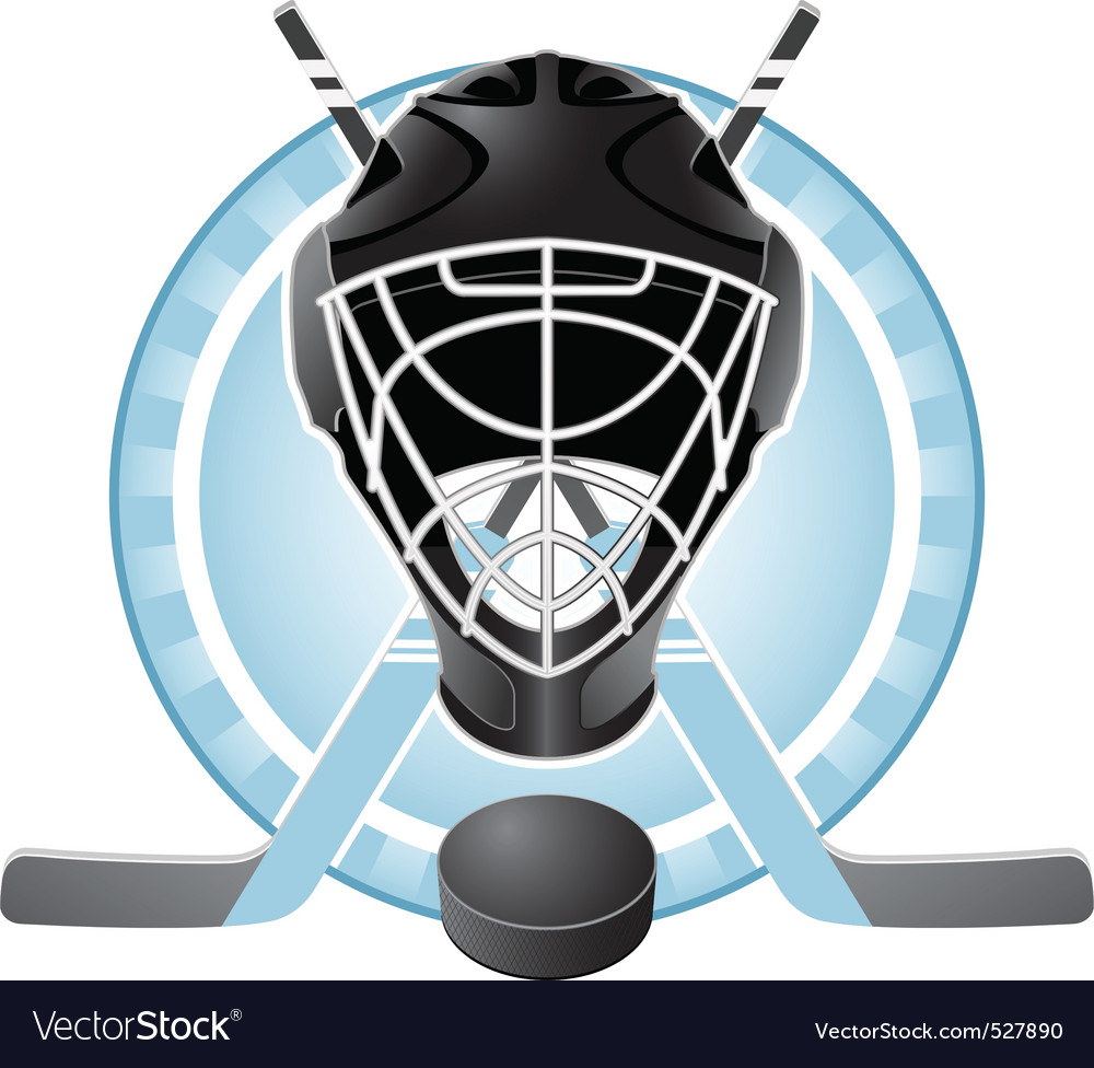 Hockey emblem vector | Price: 3 Credit (USD $3)