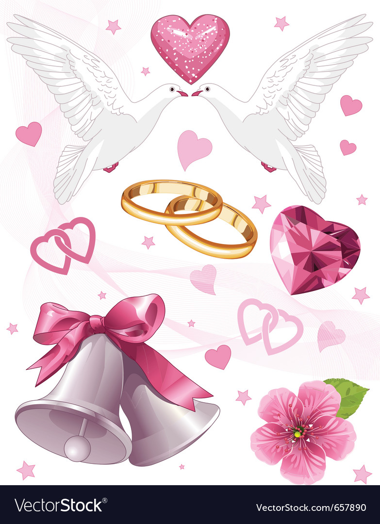 Wedding art for invitations vector | Price: 3 Credit (USD $3)