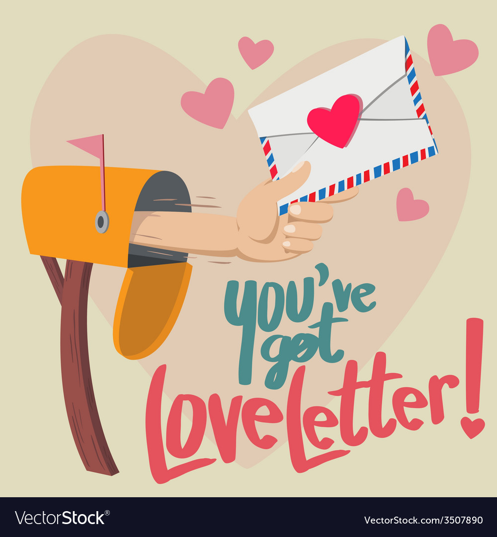 You have got love letter vector | Price: 1 Credit (USD $1)