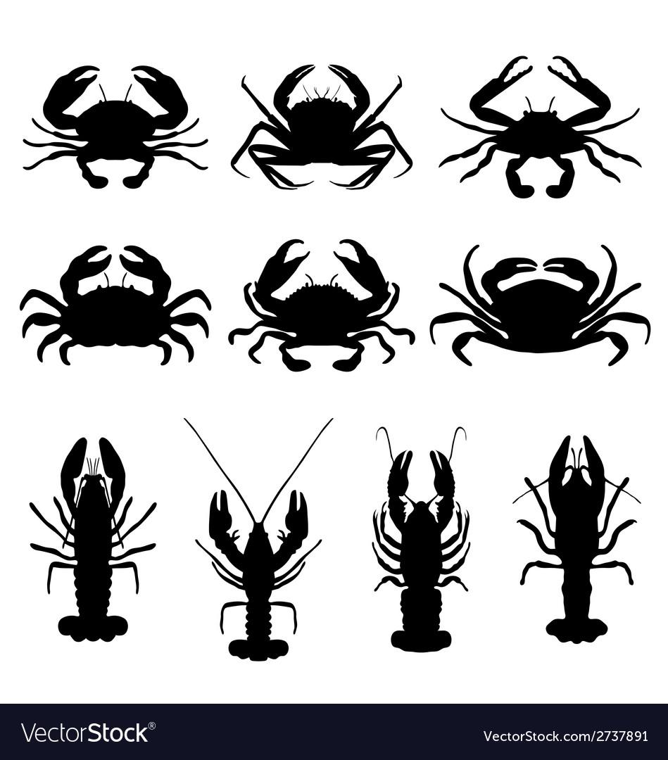 Crabs vector   Price: 1 Credit (USD $1)