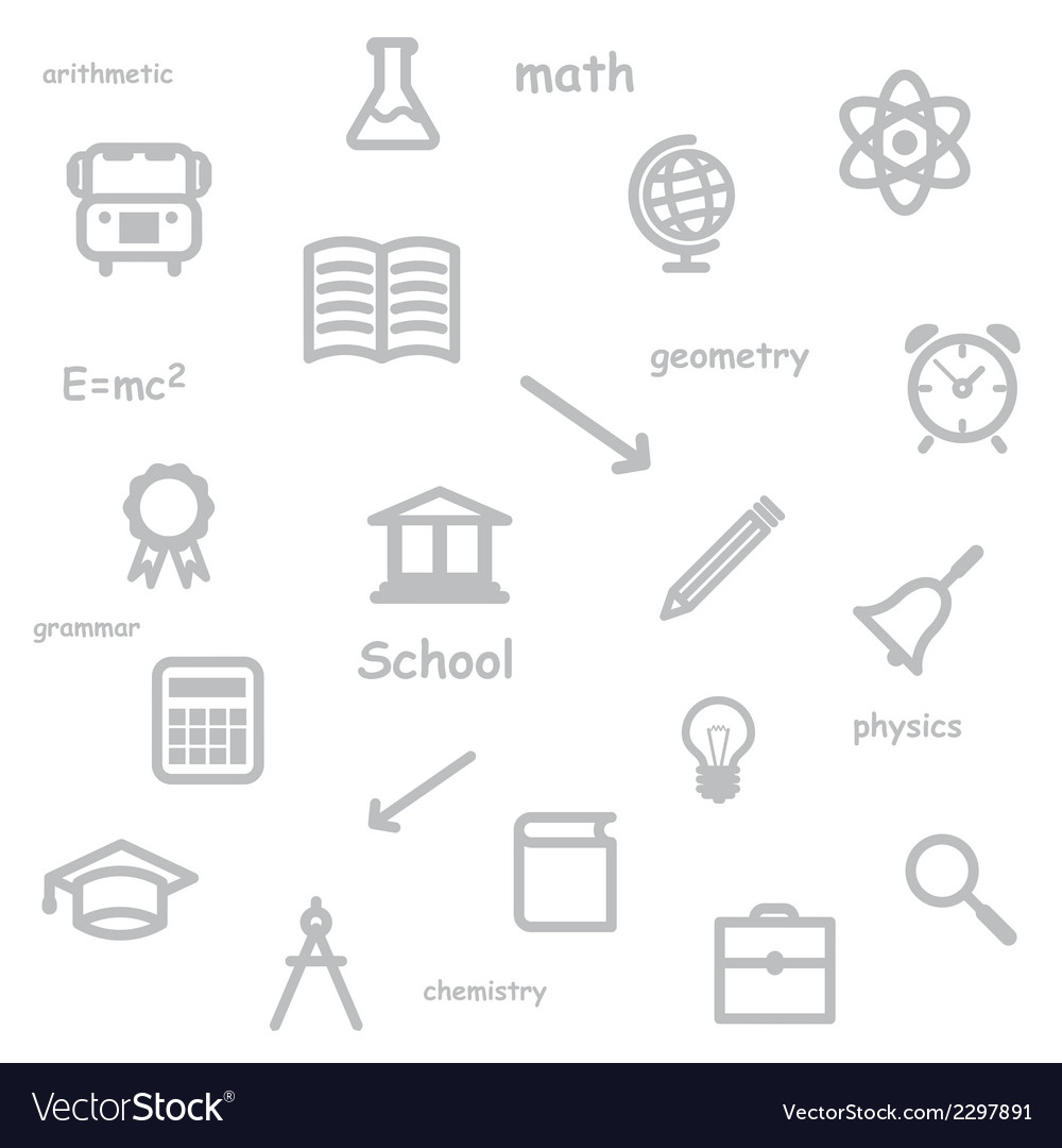 Education background vector | Price: 1 Credit (USD $1)