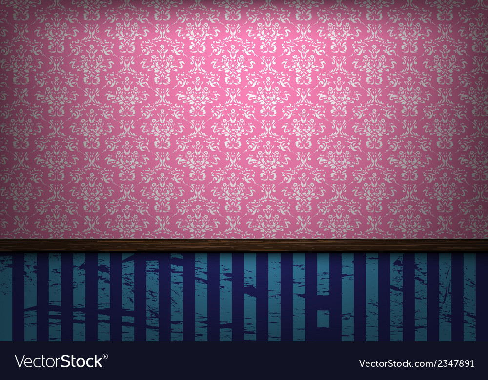 Empty old grungy room vector   Price: 1 Credit (USD $1)
