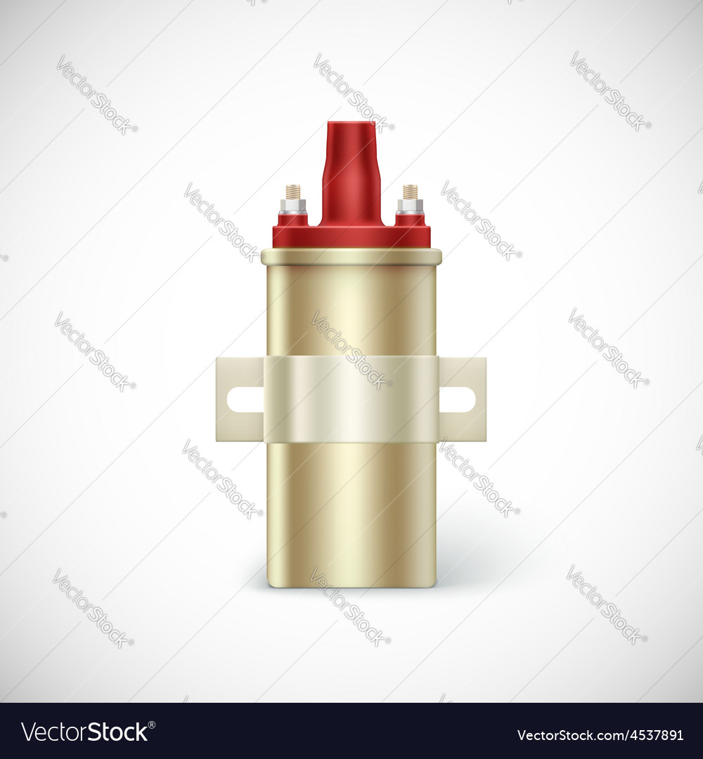 Igniter coil car part vector | Price: 1 Credit (USD $1)