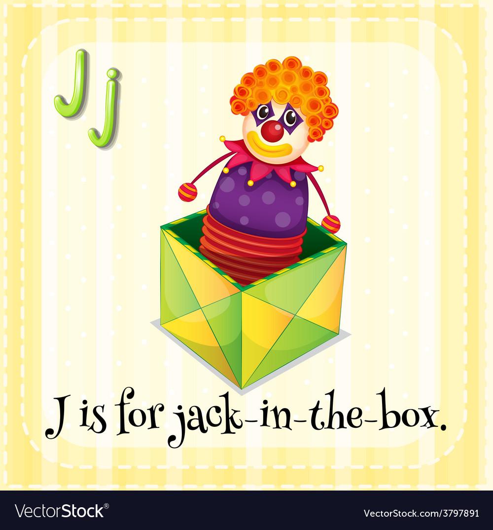 Letter j vector | Price: 1 Credit (USD $1)