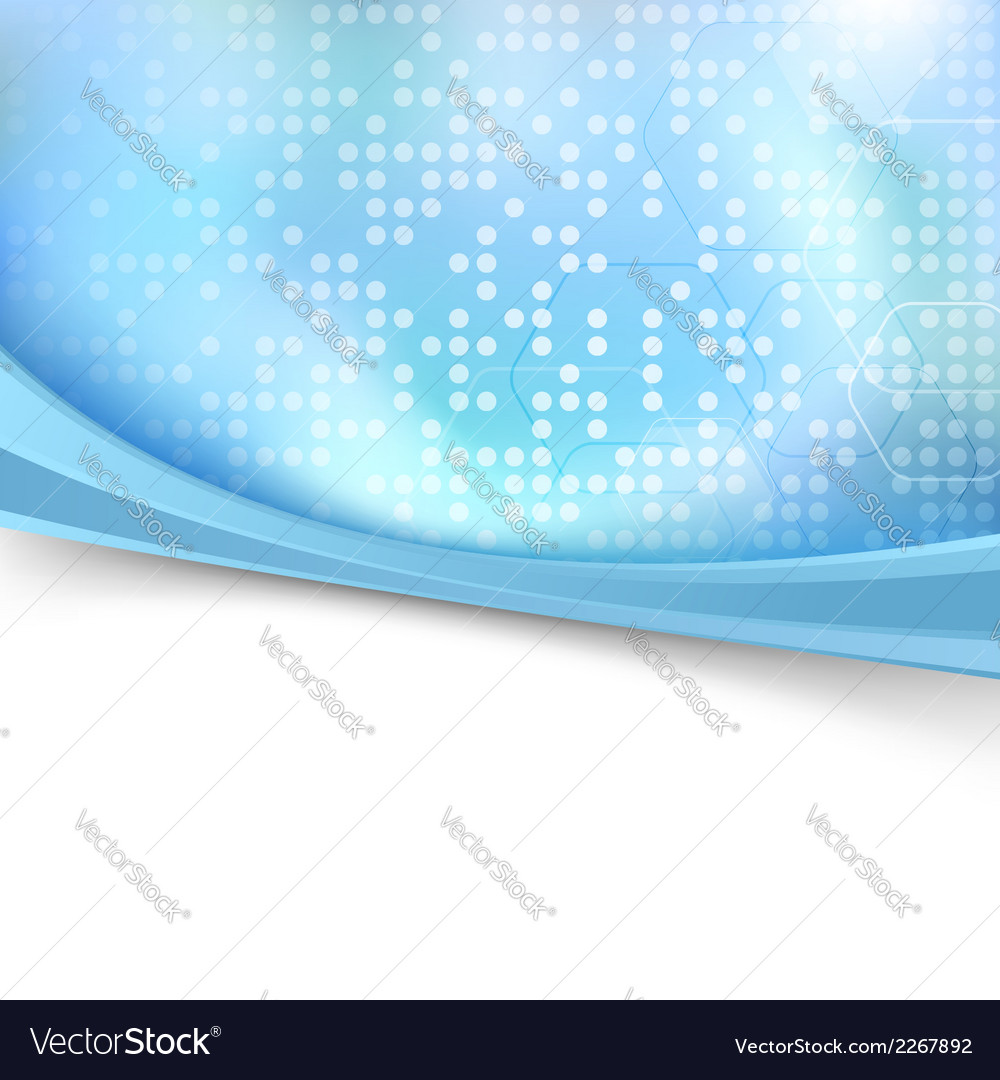 Blue bright dotted folder background vector | Price: 1 Credit (USD $1)