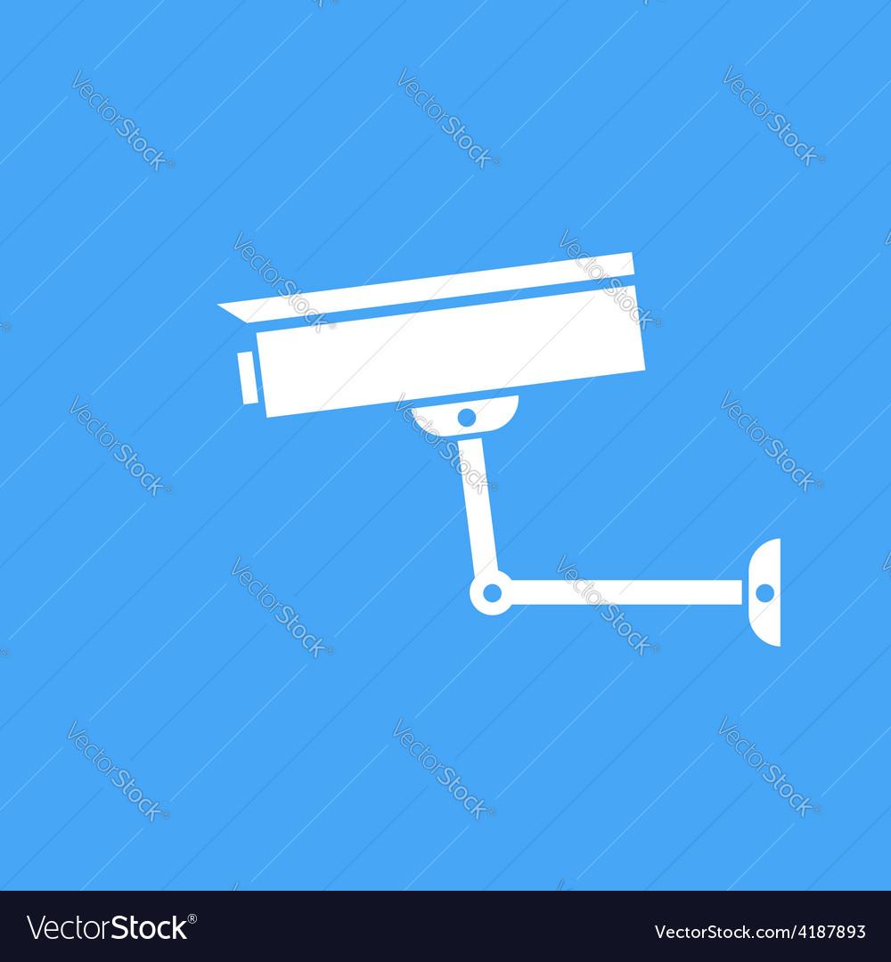 Camera surveillance protection icon vector | Price: 1 Credit (USD $1)