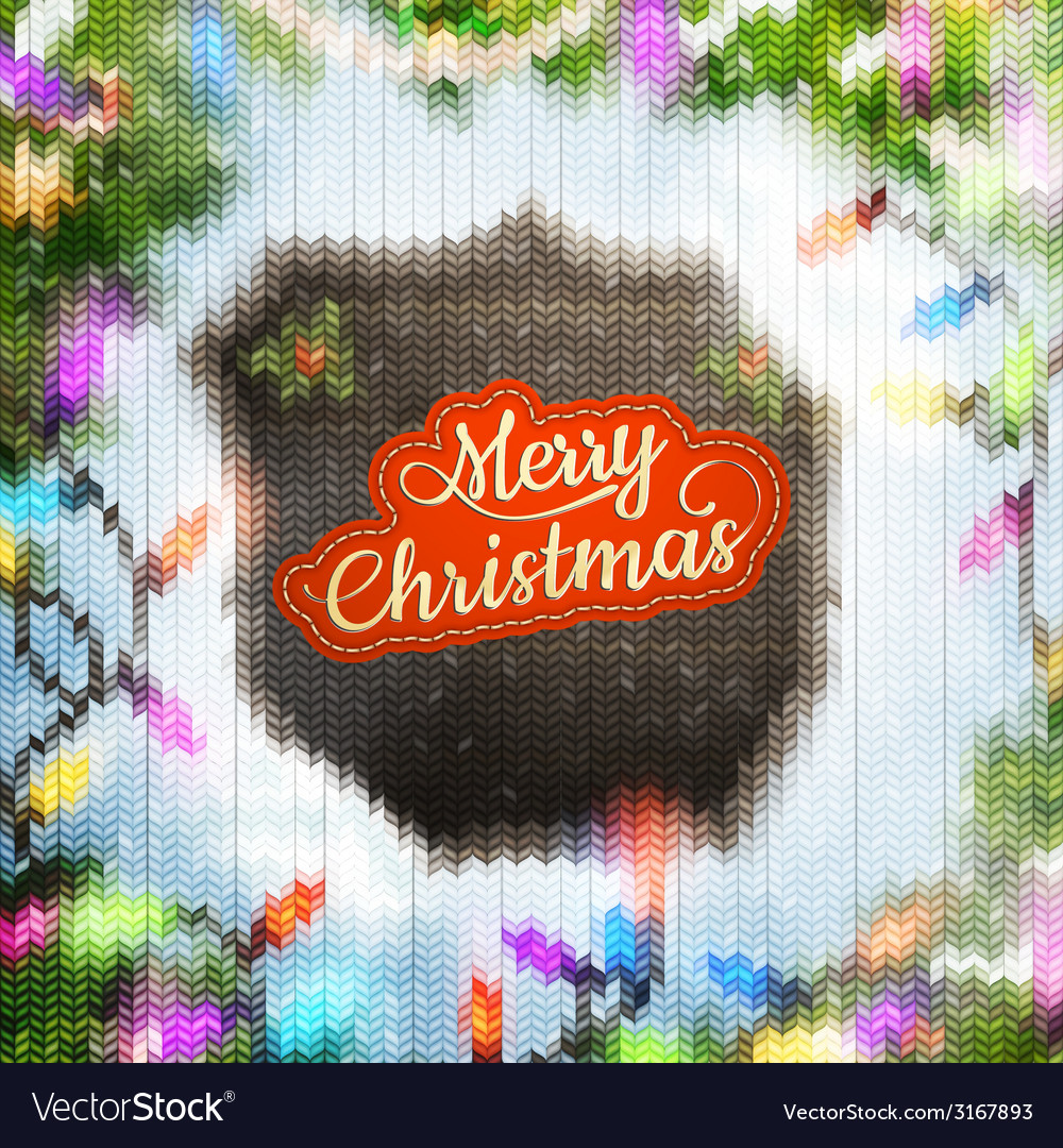 Christmas template with label eps 10 vector | Price: 1 Credit (USD $1)